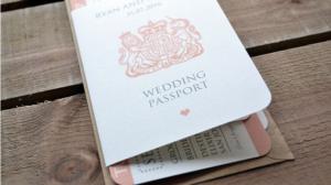 passaporto inviti matrimonio