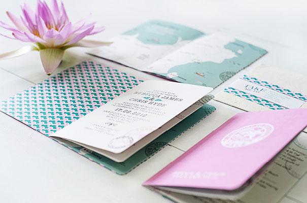 inviti matrimonio passaporto