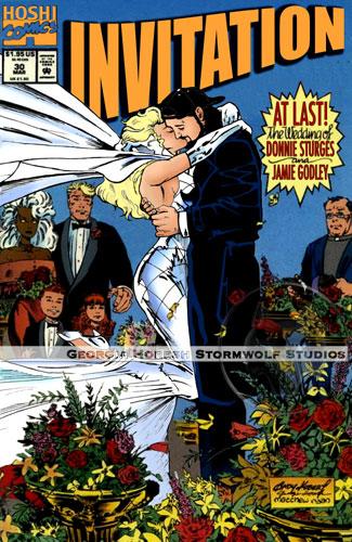 biglietto di matrimonio supereroi