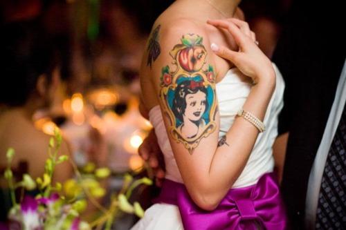 sposa tatuata