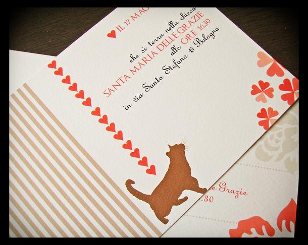 Partecipazioni Matrimonio Gatti.Partecipazioni Di Matrimonio Con Gli Animali