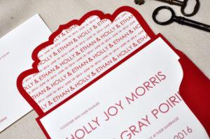 buste originali per partecipazioni di matrimonio