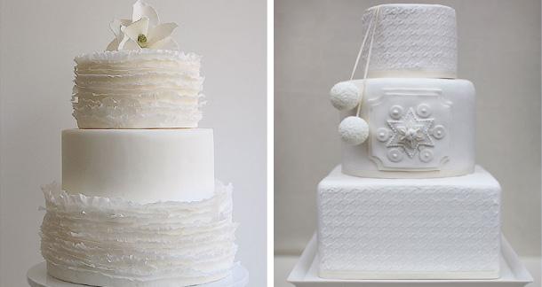 ispirazioni di torte matrimonio in inverno