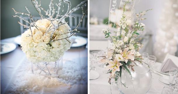 Matrimonio In Inverno : Ispirazioni centrotavola matrimonio in inverno
