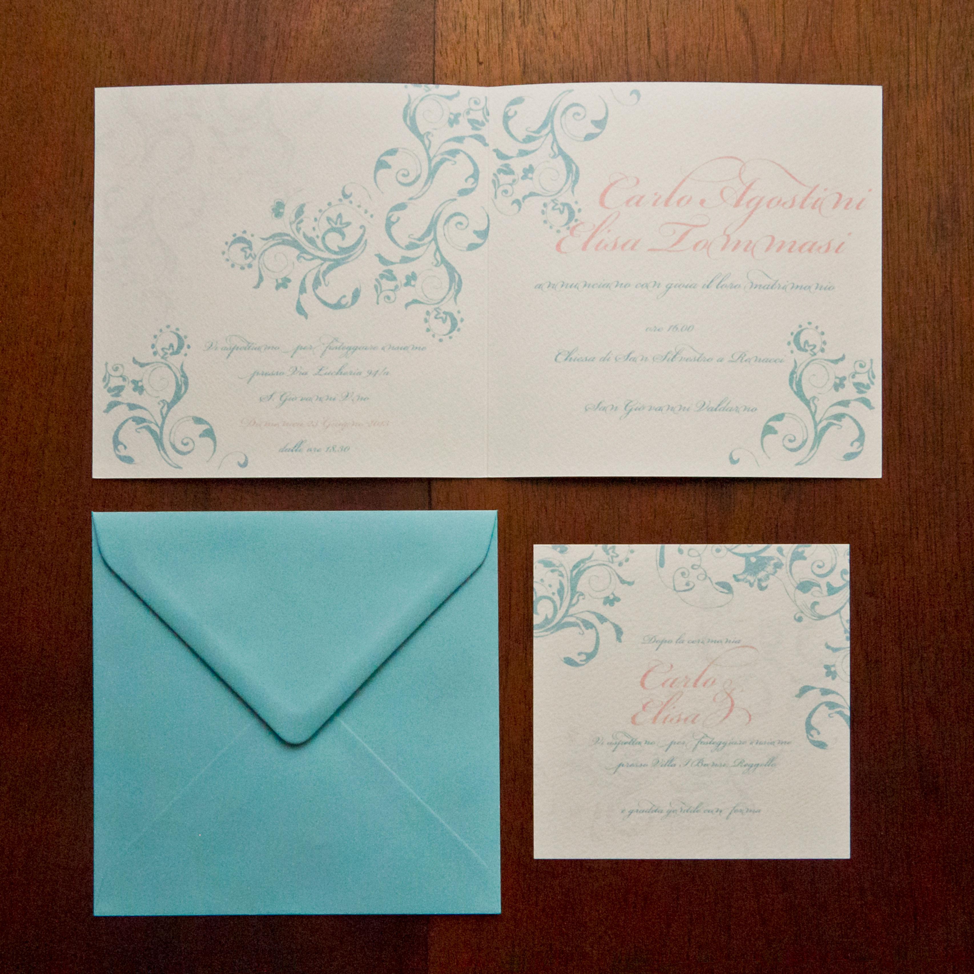 Partecipazioni per matrimonio e coordinati di matrimonio for Partecipazioni nozze on line