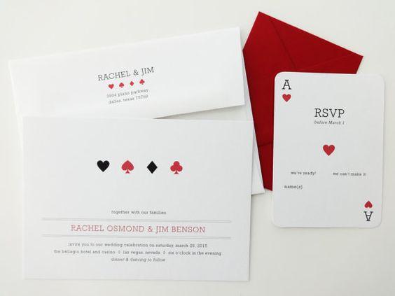 Partecipazioni di matrimonio spiritose carte