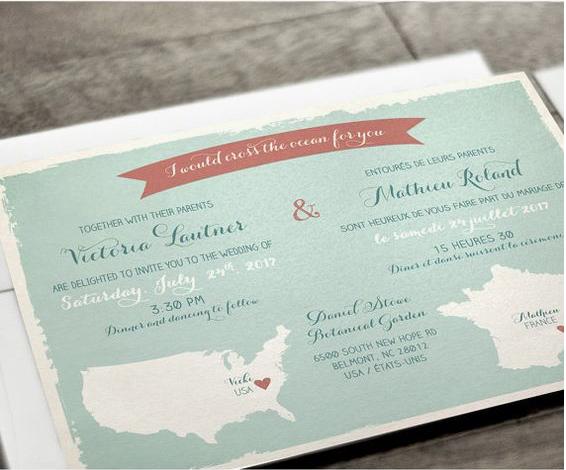 Partecipazioni nozze a tema viaggio