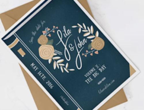 Idee originali per partecipazioni di matrimonio a tema scuola