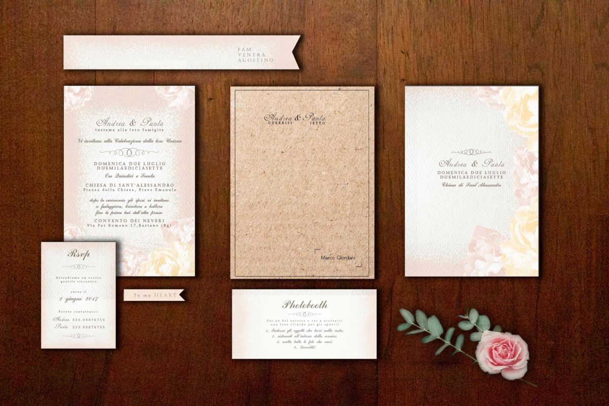 Favoloso Layout partecipazioni matrimonio | partecipazionipermatrimonio.com DF79