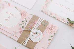 Matrimonio Tema Primavera : Partecipazioni di matrimonio floreali a tema primavera