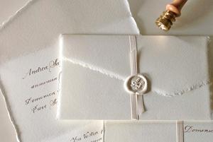 Partecipazioni di nozze con ceralacca, come renderle originali!