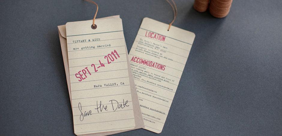 partecipazioni matrimonio a segnalibro