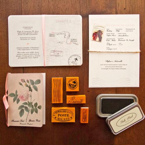 partecipazioni matrimonio passaporto