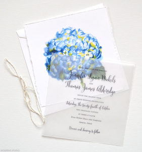 ortensia inviti di matrimonio