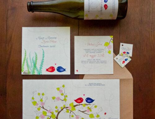 Come personalizzare le etichette del vino per il matrimonio
