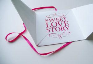 partecipazioni di matrimonio origami