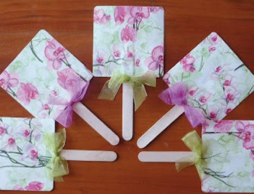 Come creare un ventaglio per il matrimonio: tutorial veloce