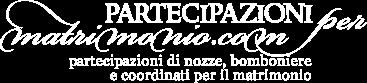 Partecipazioni per Matrimonio - Logo