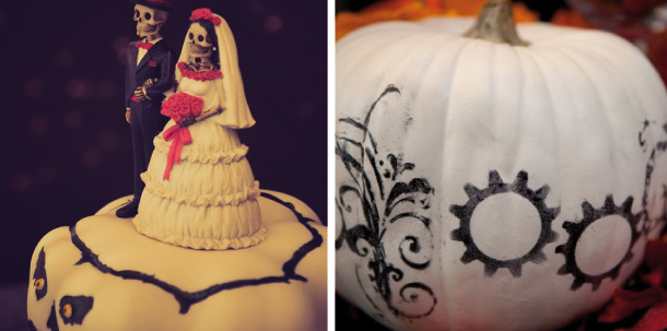 matrimonio in stile Halloween