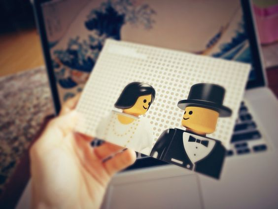 Partecipazioni di matrimonio nerd