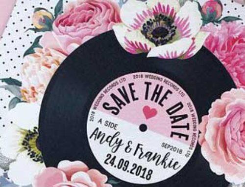 Partecipazioni matrimonio tema musica